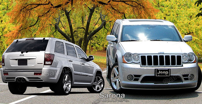Custom Jeep Grand Cherokee  SUV/SAV/Crossover Body Kit (2008 - 2010) - $1450.00 (Manufacturer Sarona, Part #JP-002-KT)